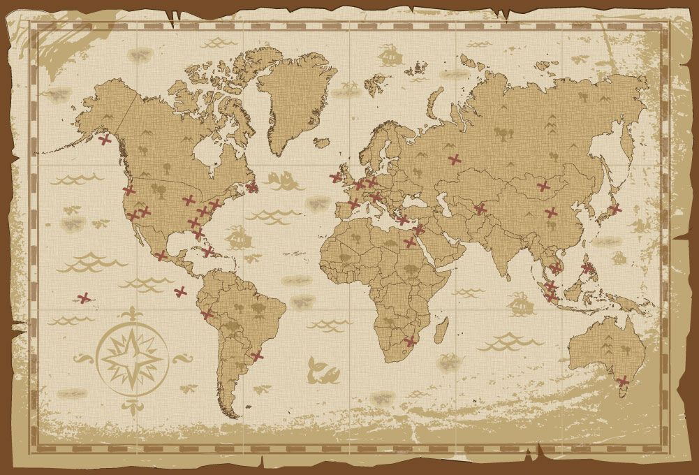 Pirate World Map.Image Result For Pirate World Map Pirate Map