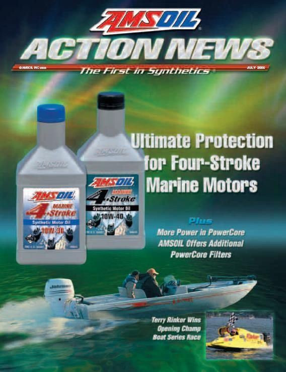 Amsoil Introduces Specially Formulated Oils For Four Stroke
