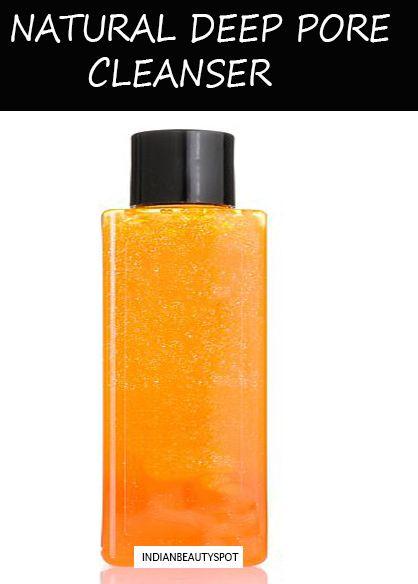 cleanser Homemade deep pore facial