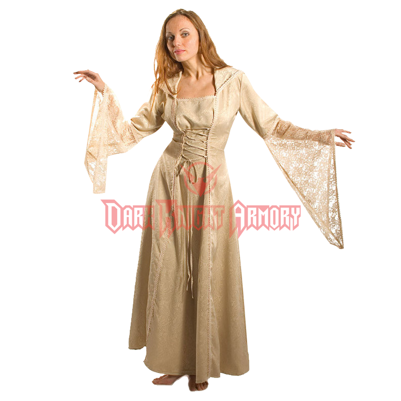 67add3de3cb Nobles Gown with Lace Bell Sleeves - FX1120 from Dark Knight Armoury