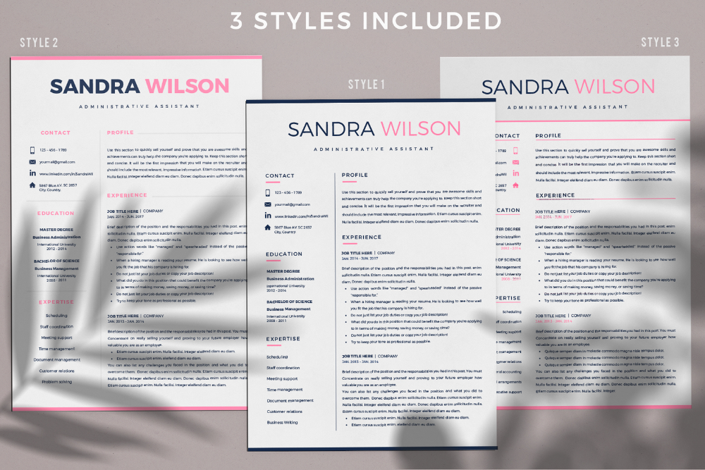 Pin On Resume Cv Package