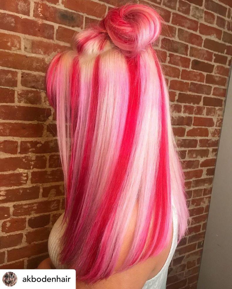 10 brillante Weihnachten Haarfarbe Ideen für 2019 in 2020 ...