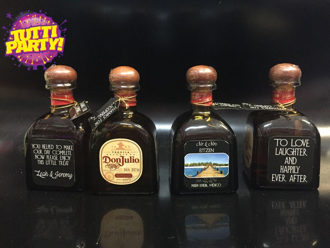 Mini Botellas de tequila personalizadas, tequila personalized ...