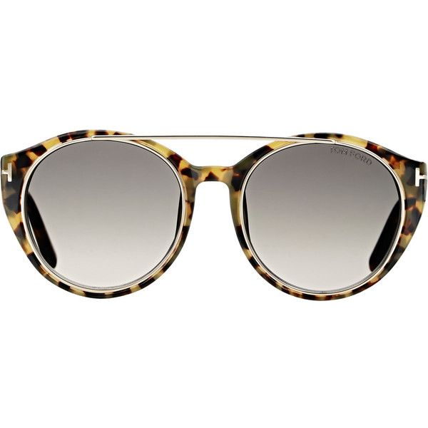 57f56b4620f Tom Ford Women s Joan Sunglasses ( 405) ❤ liked on Polyvore featuring  accessories