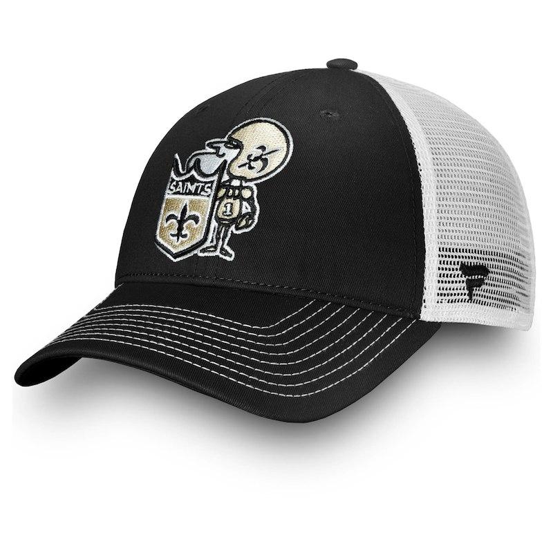 online retailer 7e1b0 886ec New Orleans Saints NFL Pro Line by Fanatics Branded Vintage ...