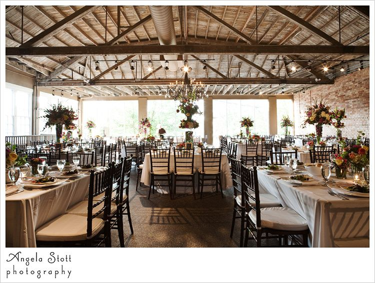 The wedding reception at the venue in asheville pretty decoration the wedding reception at the venue in asheville pretty decoration and centerpieces with panorama windows junglespirit Gallery
