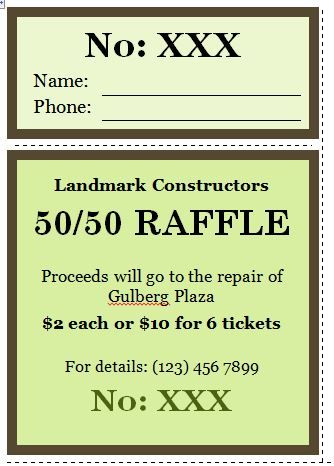 Free Ticket Maker Template Raffle Ticket Templates 29  Real Estate Ideas  Pinterest  Ticket .