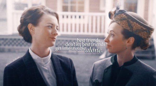 """Best friends don't let best friends get into trouble alone.""""  #Hearties #DottieTuesdays #TeamFloMoDo"""