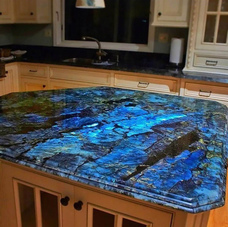 Labradorite Countertop Home Home Decor Kitchen Remodel Countertops