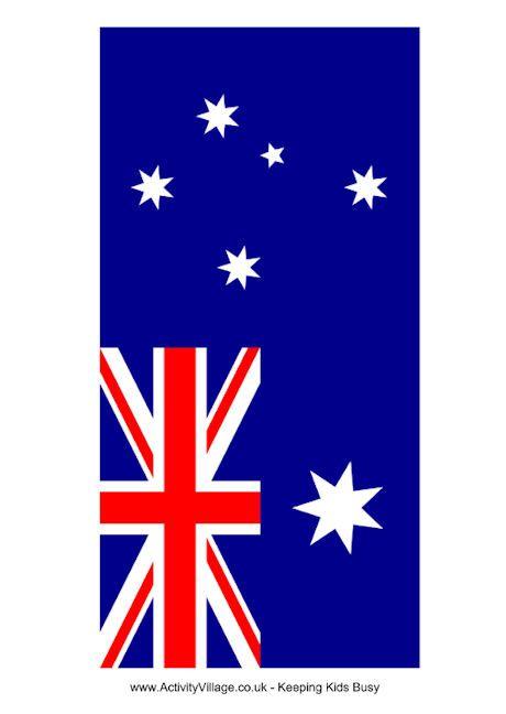 Australia Flag Printable Flag Printable Australia Flag World Thinking Day