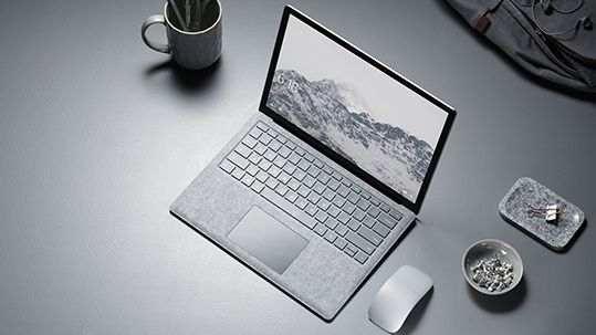 surface laptop in tabletop setting laptops pinterest surface