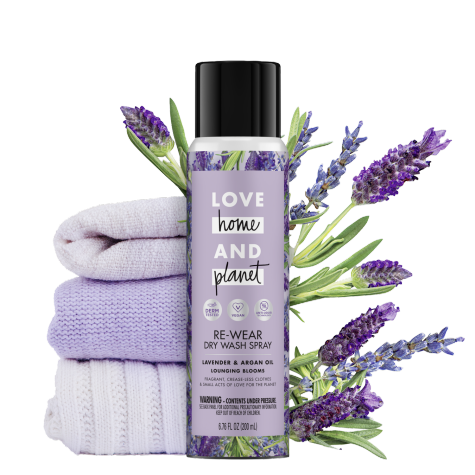 Lavender Argan Oil Dry Wash Spray Love Home And Planet Dry