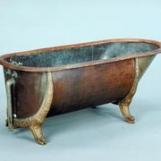 Cast Iron Slipper Clawfoot Tub With Lion S Paw Feet And A