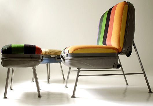sillon con reposapies  ...
