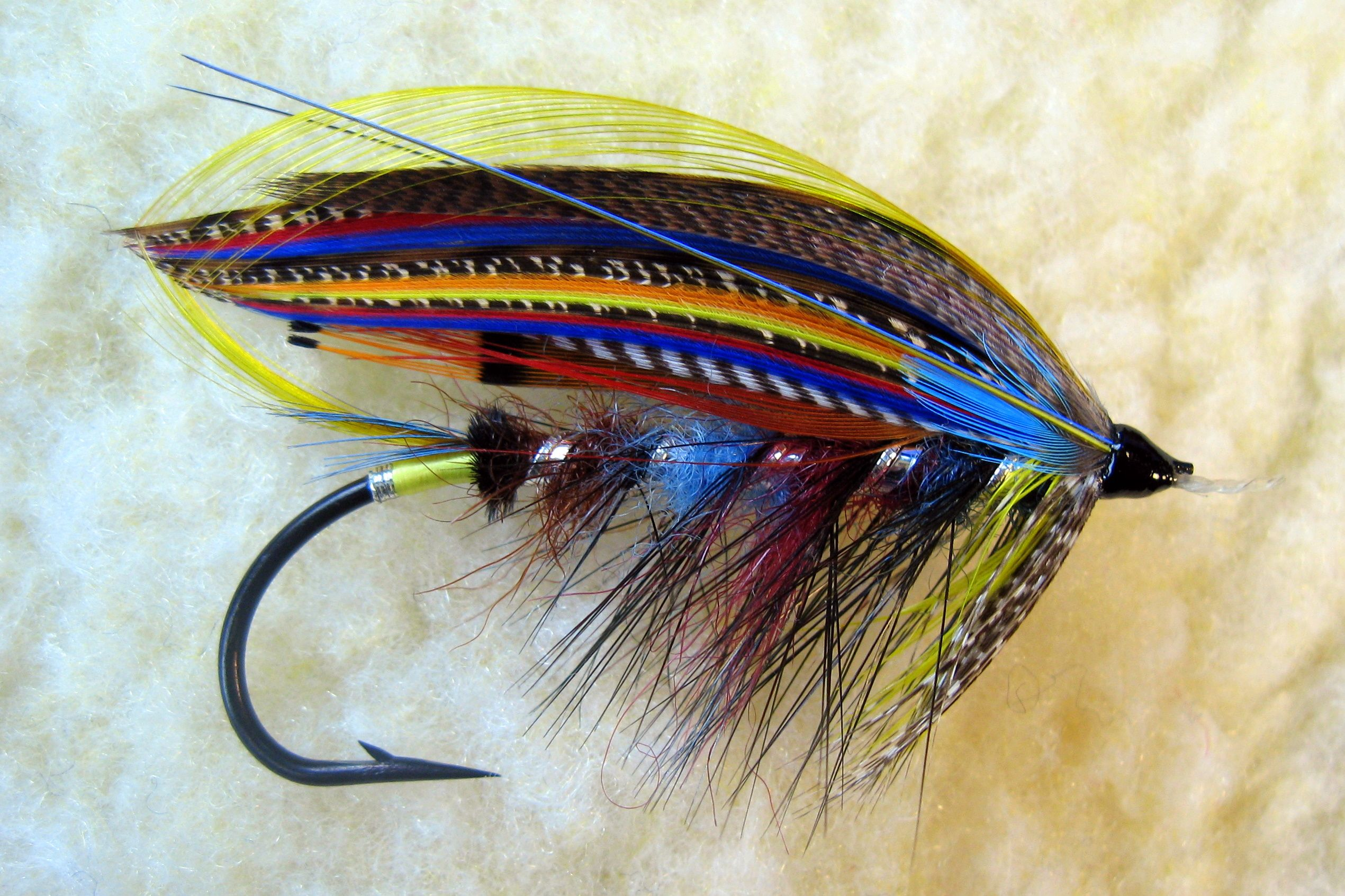The butcher salmon flies salmon and fish for Salon fly
