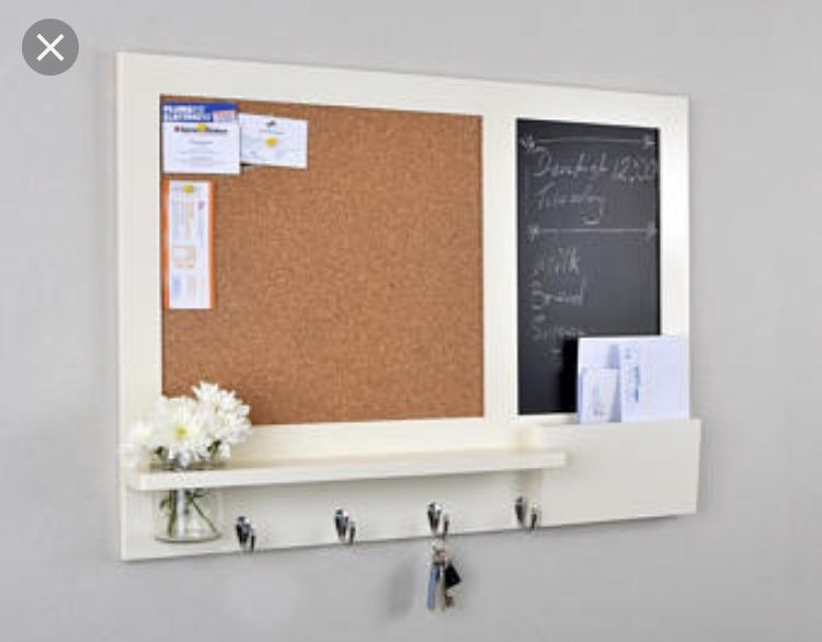Kitchen Notice Board Inspiration Chalkboard Organizer Kitchen
