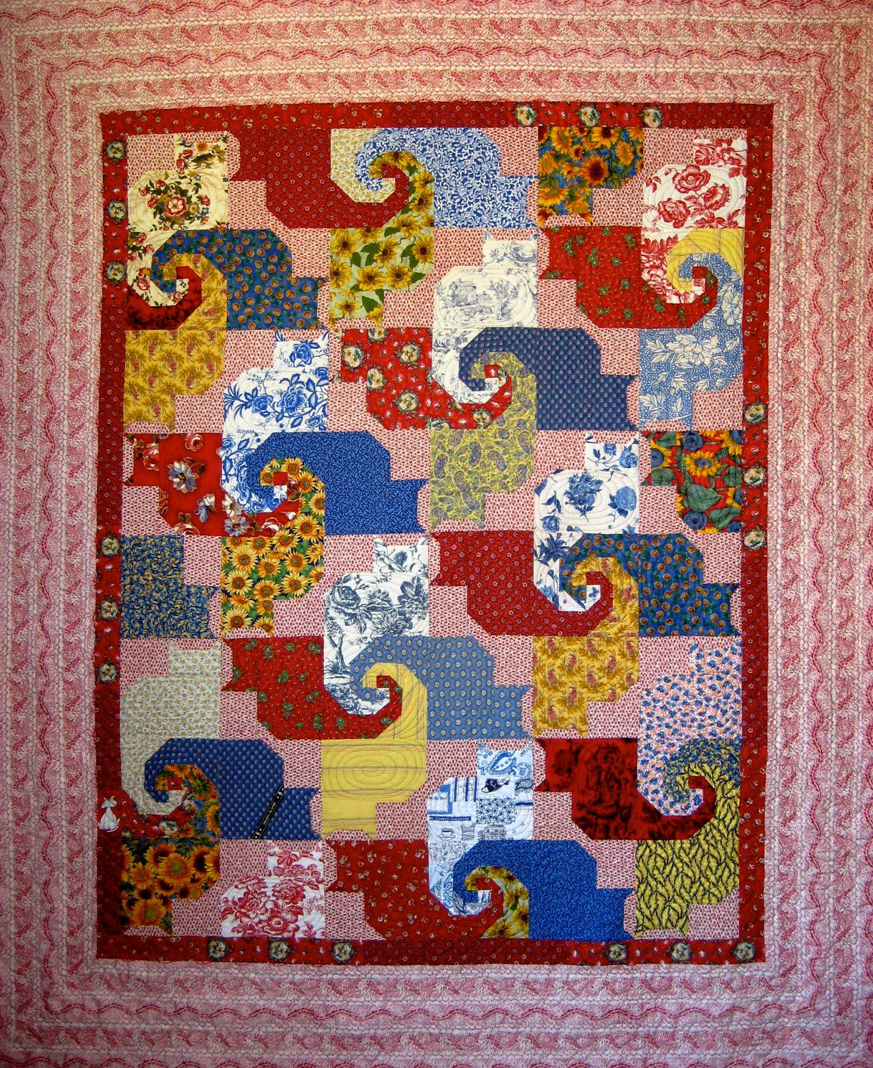 Pin by Robert Baccus on Quilting Cat quilt, Quilts