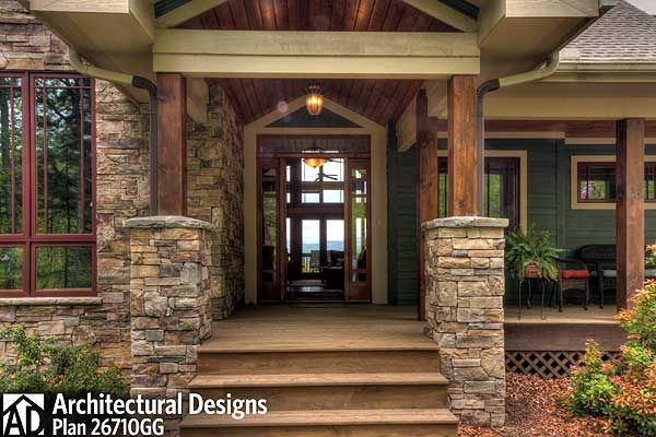 plan 26710gg  rugged mountain plan with great outdoor