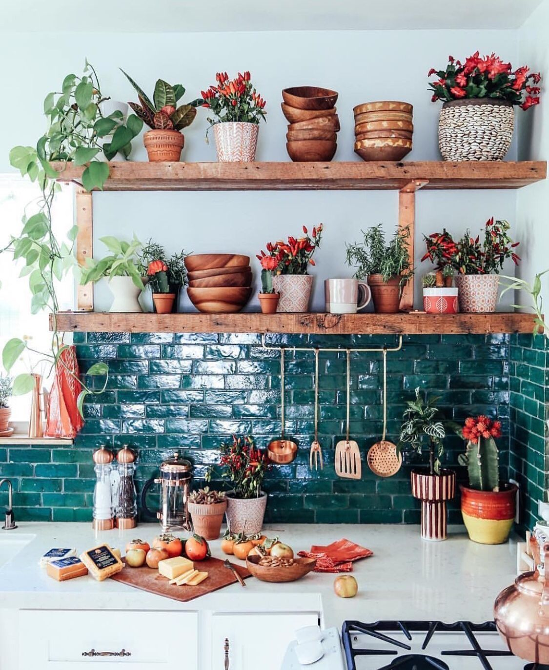thejungalow deco  Idée déco cuisine, Intérieur moderne de cuisine