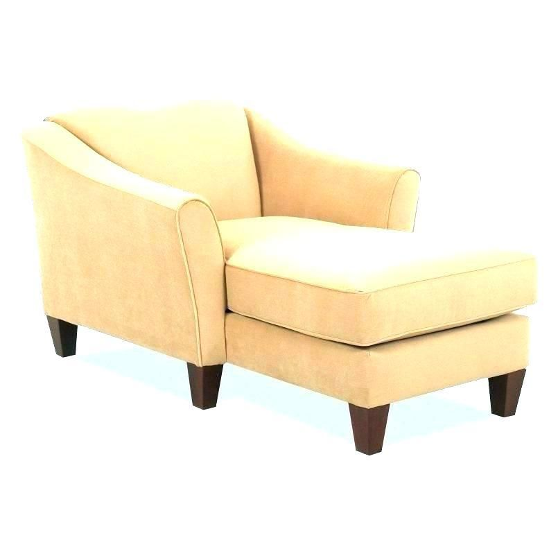 Chaise Lounge Indoor Furniture On Tufted Double Ended