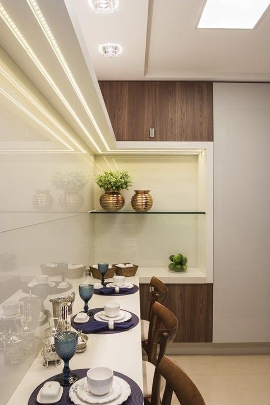 Iluminaci n led curiosidades y aplicaciones en 2019 for Cocinas modernas para apartamentos pequenos