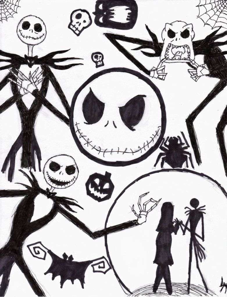 Sally nightmare before christmas coloring page - Nightmare Before Christmas Characters Drawings Google Search Jack And Sallychristmas Coloring Pagescharacter