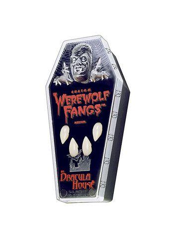 Custom Fit Werewolf Fangs – Ricky's Halloween | Halloween makeup ...