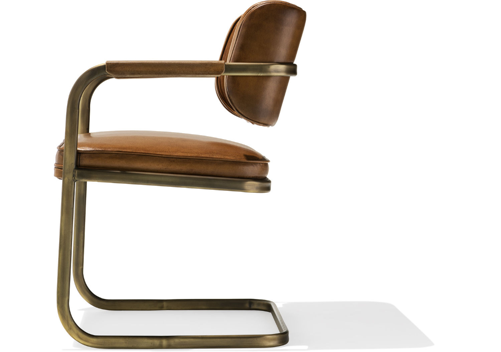 Jimmy Cooper Chair In 2020 Chair Upholstered Chairs Water Buffalo Leather