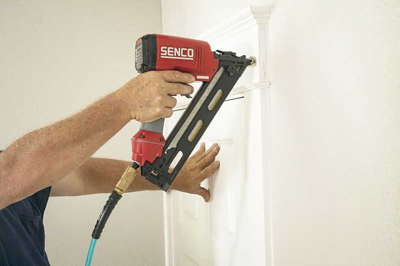 Senco Finishpro 30xp 15 Gauge Finish Nailer Finish Nailer Trim Carpentry Woodworking Guide