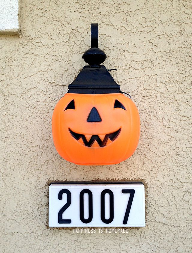 The Cheapest  Easiest Halloween Decorations EVER - Jack O\u0027Lantern - easy halloween pumpkin ideas