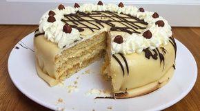 Marzipantorte Mit Mandelbiskuit Und Buttercreme Rezept In 2020 Marzipantorte Kuchen Und Torten Und Leckere Torten