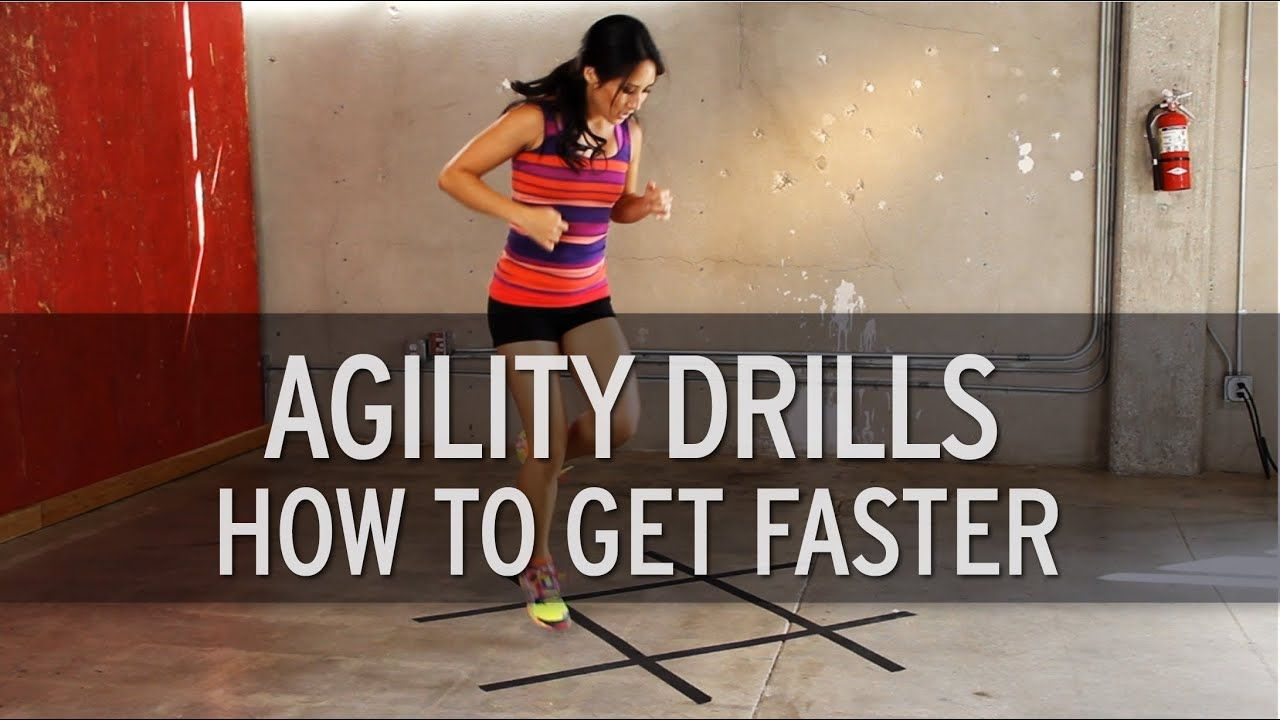Agility Drills: How to Get Faster
