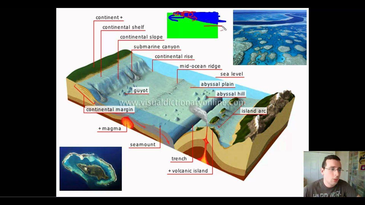 Ocean Basins (Part 1) Features of the Ocean Floor