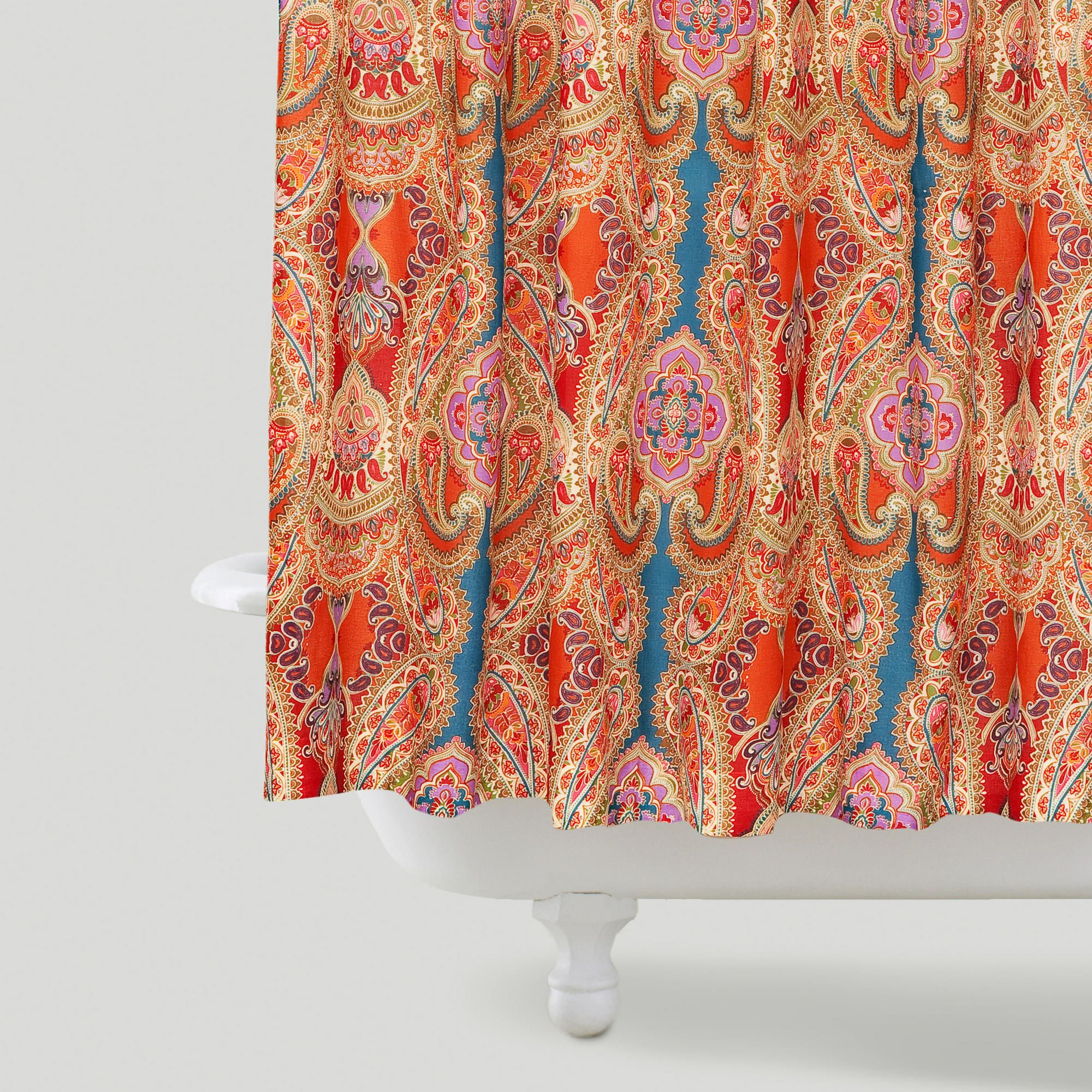 Paisley Venice Shower Curtain World Market Bohemian Shower