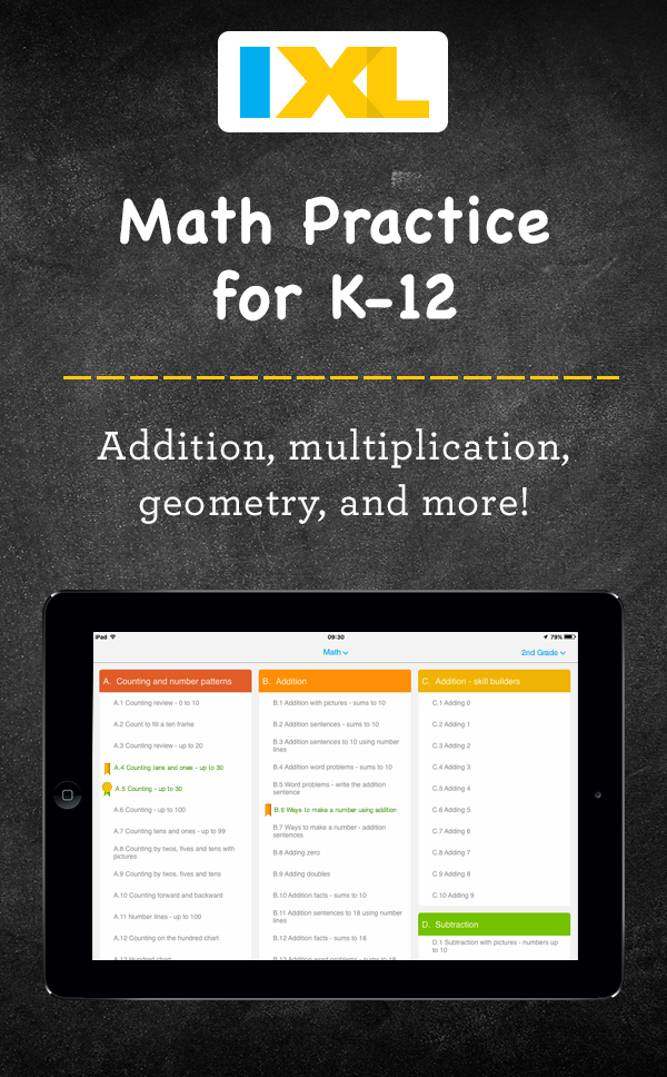 The teacher-approved K12 app. Try our math and language practice ...