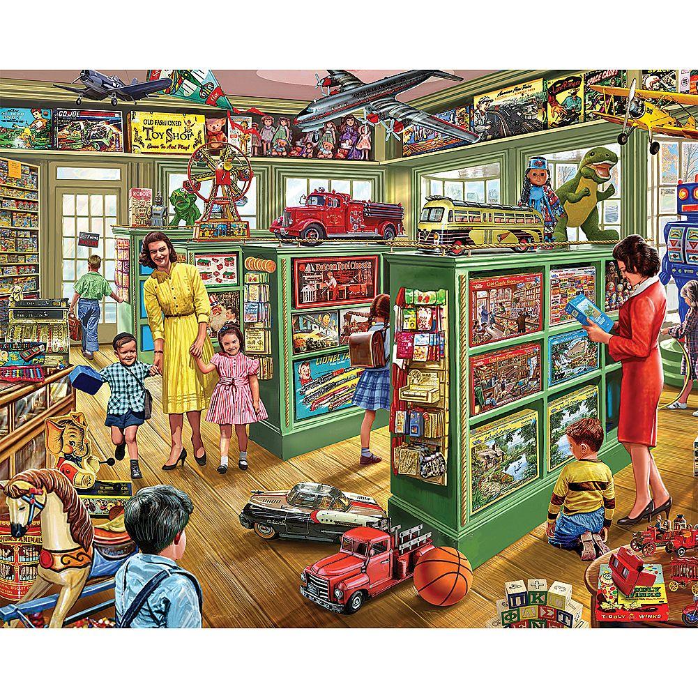 Toy Store By Steve Crisp