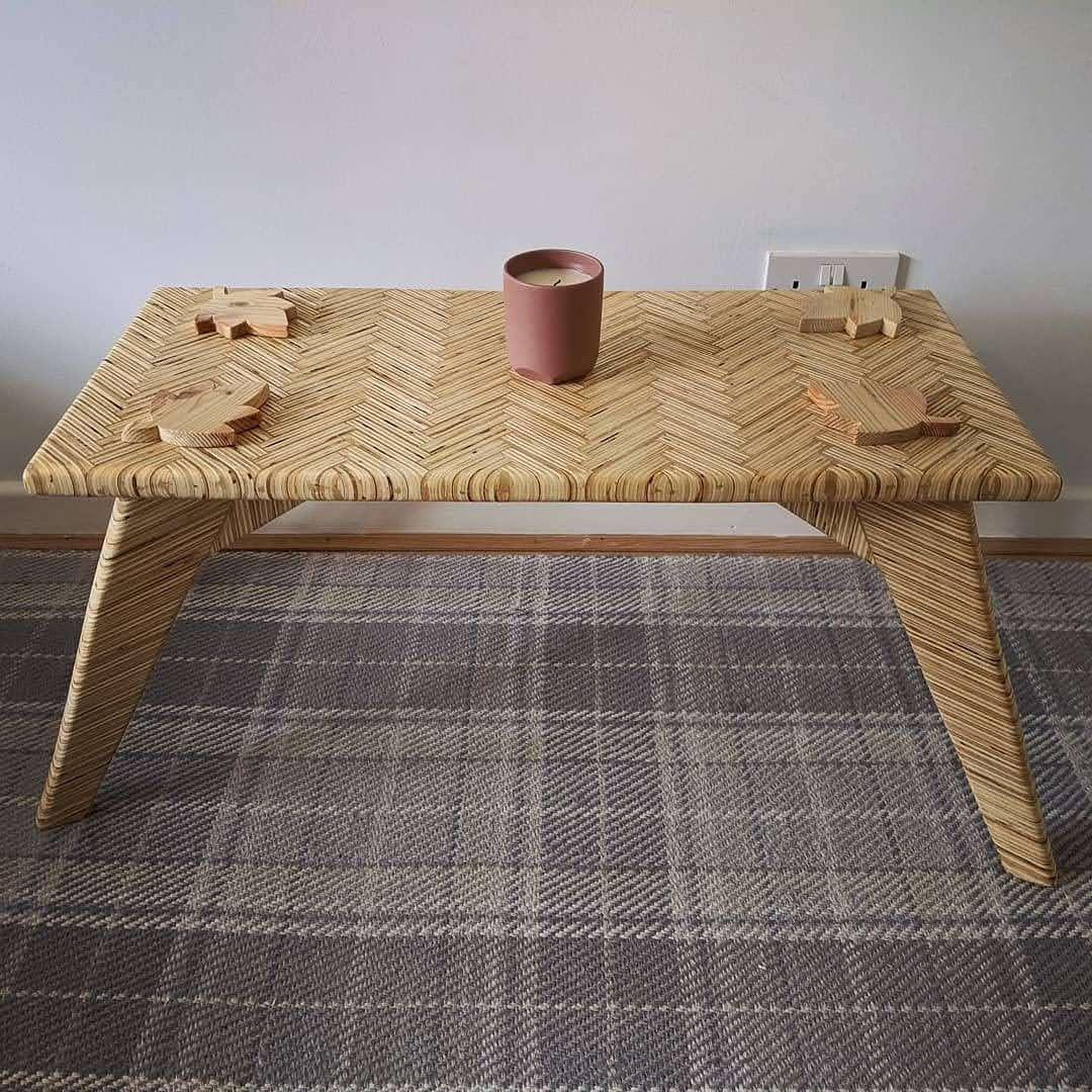 Herringbone Coffee Table #SmallTable #HerringbonePattern #SmallCoffeeTable #CoffeeTable #RusticTable #HandmadeFurniture #PatternedTable #WoodenTable #DiningTable #LivingRoom
