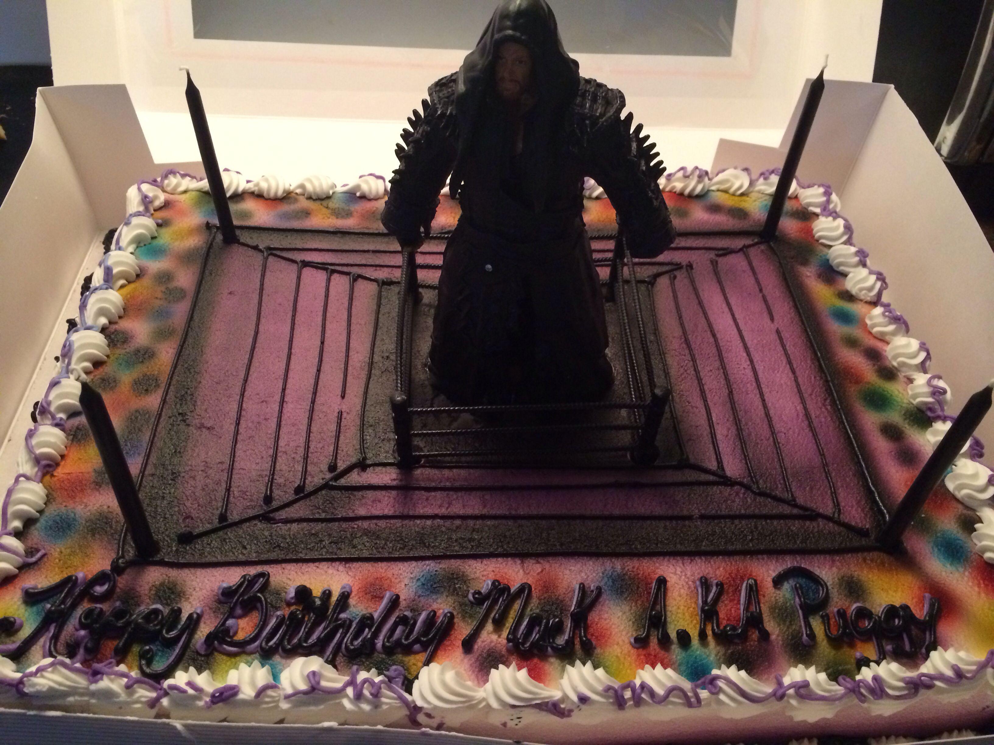 Undertaker cake