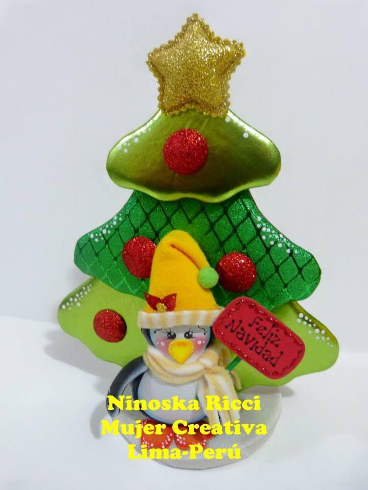 adorno de navidad arbol con pinguino si ests en la bsqueda de navideas para adornar