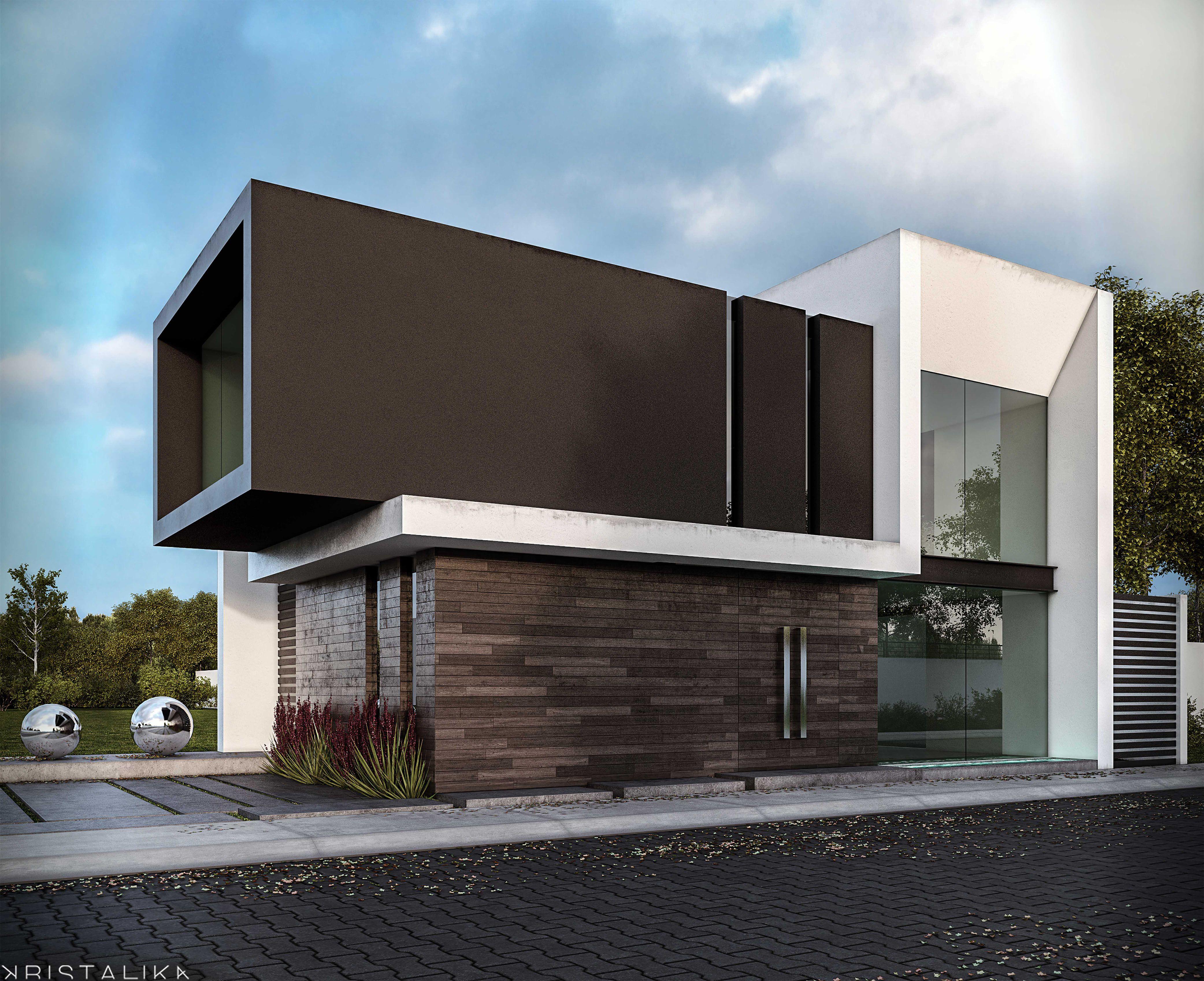 Rsi 1 house house pinterest fachadas fachadas for Arquitectura de casas minimalistas