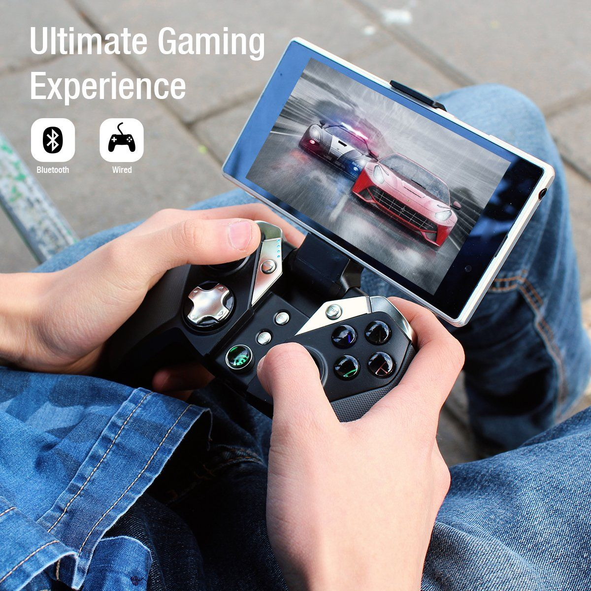GameSir G4 Wireless Gaming Controller Bluetooth Gamepad for Android
