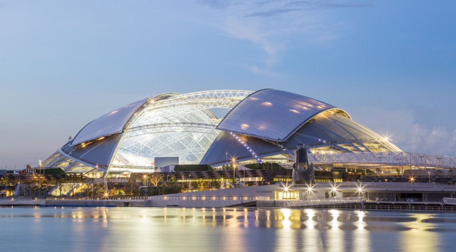 Singapore Sports Hub by DP Architects Arquitectura