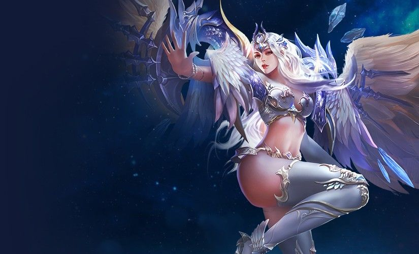 Wallpaper Legacy Of Discord Furious Wings Sorceress