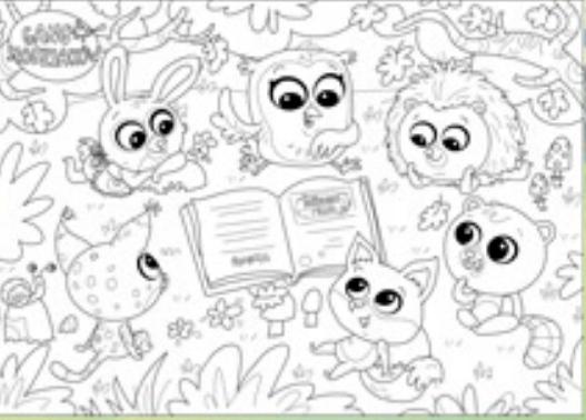 Plakat Z Kolorowanka Gang Slodziakow Slodziaki 7658986989 Oficjalne Archiwum Allegro Character Fictional Characters Art