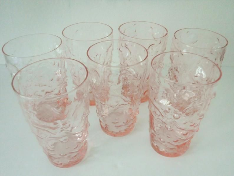"""Wall Bubble Gum  RETRO  4/"""" tall New In Box 4 Tervis cups"""
