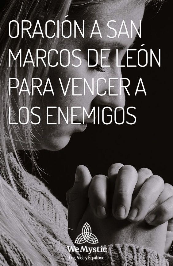 Oración a San Marcos de León para vencer a los enemigos   Pinterest ...