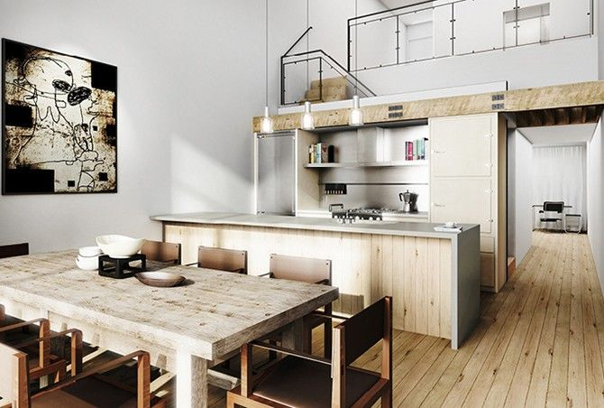 industrial style kitchen google search - Industrial Style Kitchen