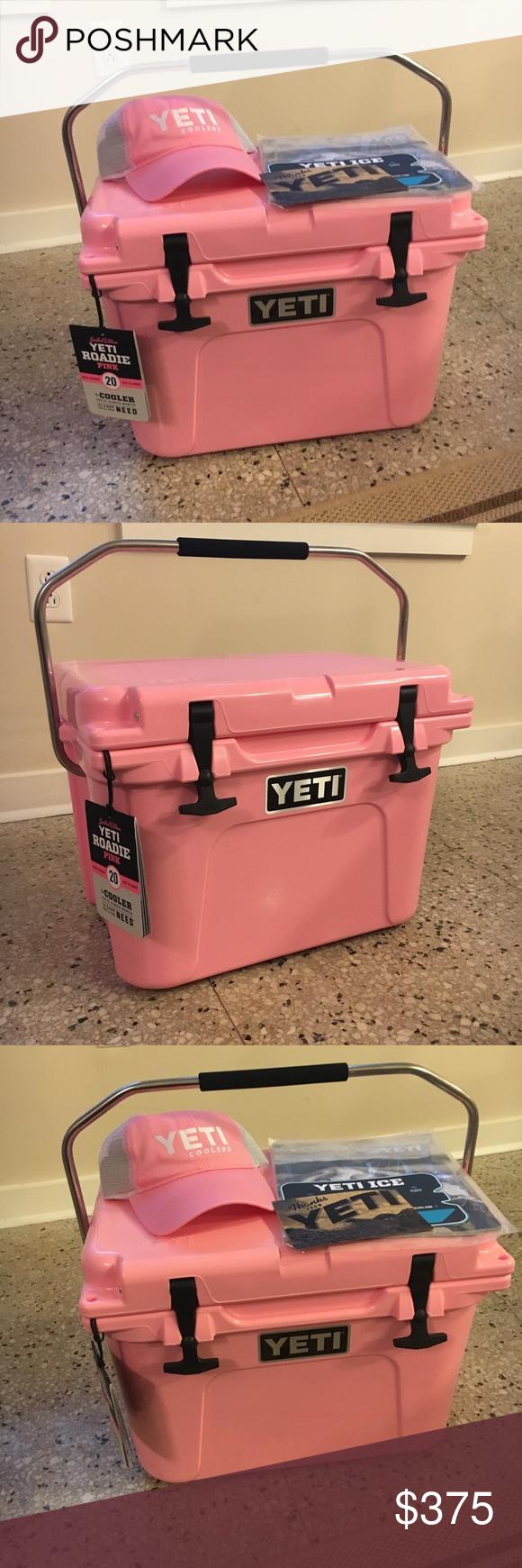 Pending Sale Pink Yeti Roadie Pink Yeti Yeti Roadie Cooler