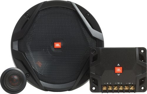 JBL - GX Series 6.5 Component Speaker System with Polypropylene Cones (Pair) - Black #componentspeakers