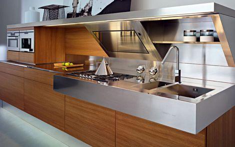 Contemporary Italian Kitchen from Snaidero - the Kube | Kitchens ...